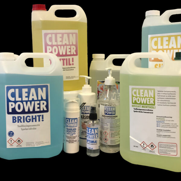 Fennopoint Clean Power tuotteita
