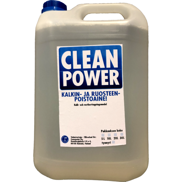 Tuotekuva Happopesuaine Clean Power Kalkin-ja Ruosteenpoistoaine