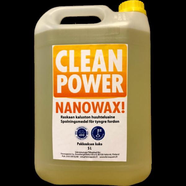 TuotekuvaHuuhteluvaha Clean Power Nanowax