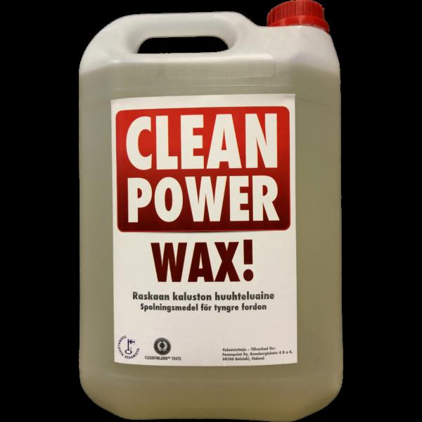 Tuotekuva Huuhteluvaha Clean Power Wax