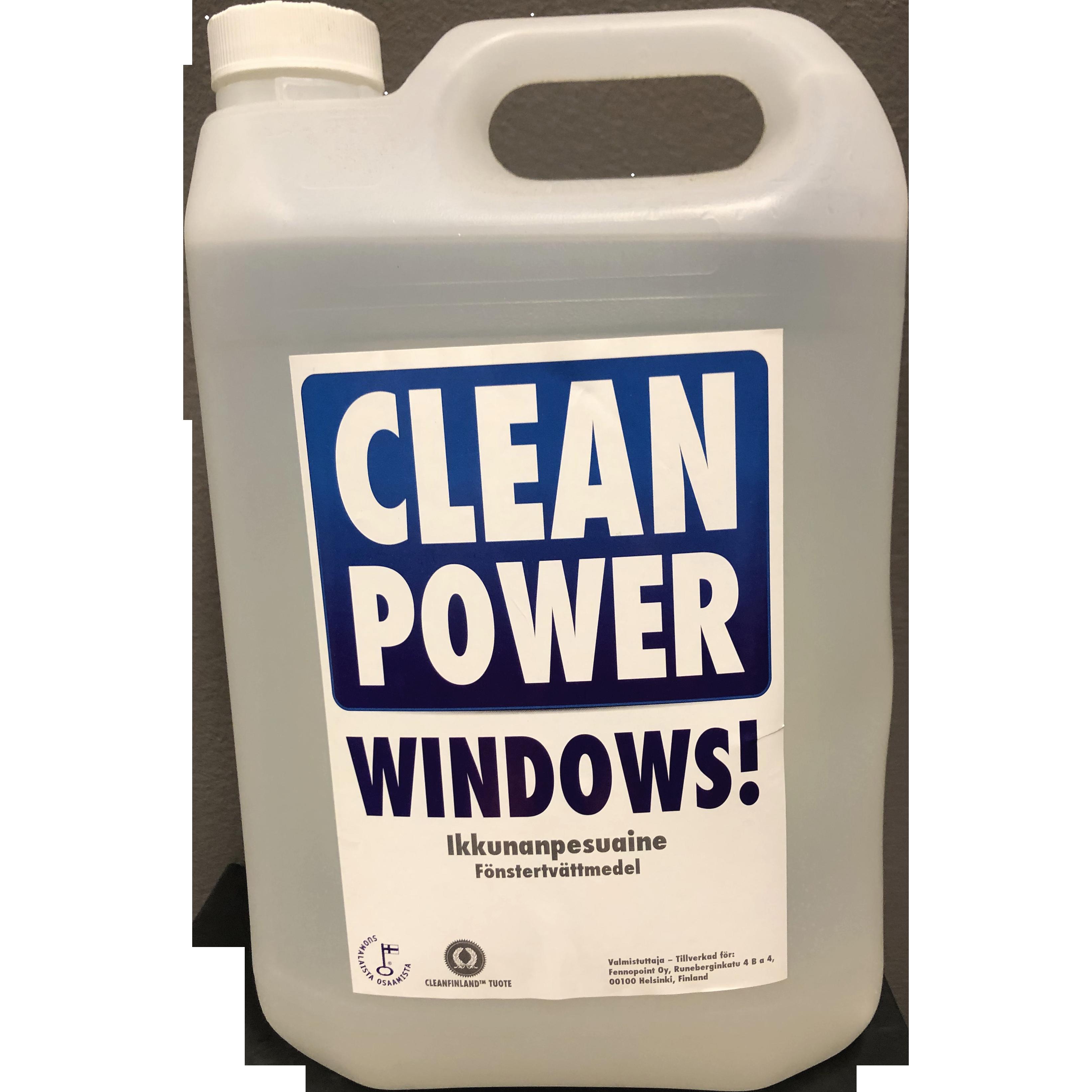 Tuotekuva Ikkunanpesuaine Clean Power Windows