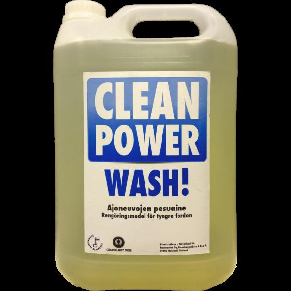 Tuotekuva Kalustonpesuaine Clean Power Wash