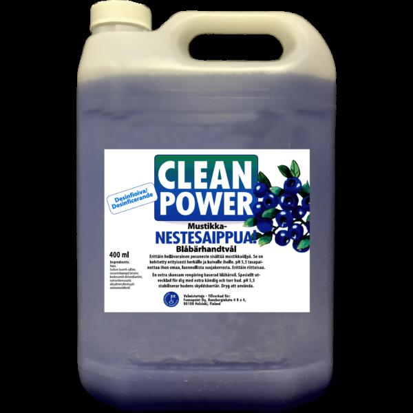 Tuotekuva Käsienpesuaine Clean Power Nestesaippua