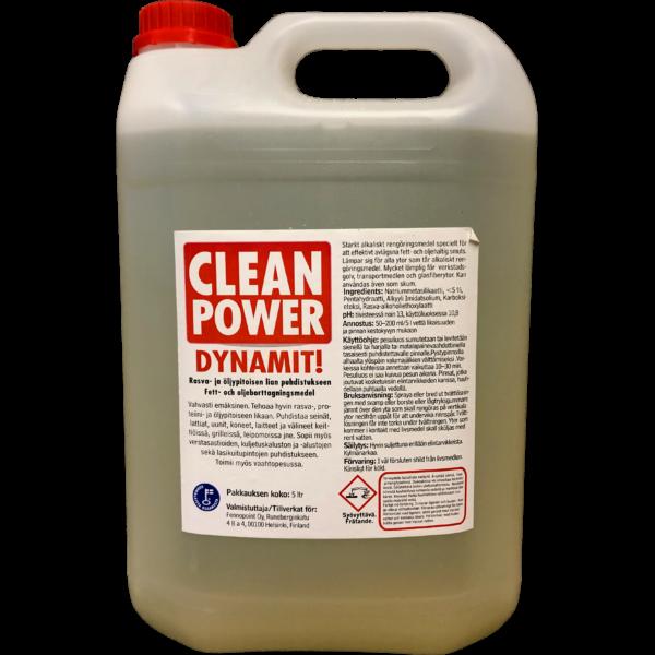 Tuotekuva Rasvanpoistoaine Clean Power Dynamite