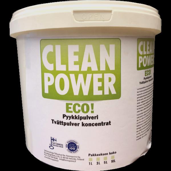 Tuotekuva Tekstiilipesuaine Clean Power Eko Pesupulveri