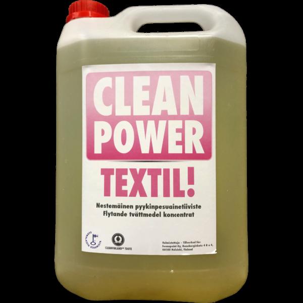 Tuotekuva Tekstiilipesuaine Clean Power Textil