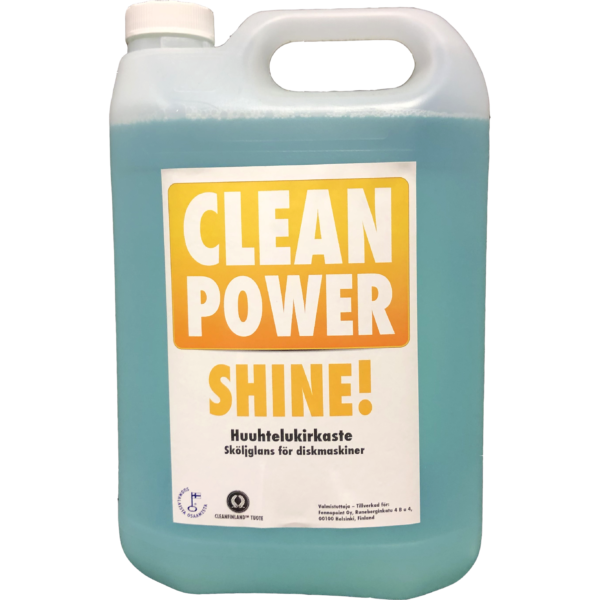 Tuotekuva Konetiskiaine Clean Power Shine