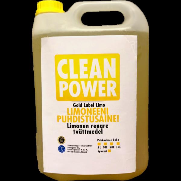 Tuotekuva Pesuaine Clean Power Limoneeni